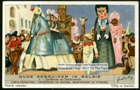 Belgian Parades Festival Customs 6 1930s Trade Ad Cards