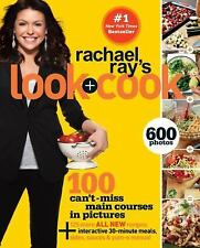 New Rachael Ray's Look + Cook Paperback 600 Photos Plus 125 All New Recipes