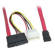 Serial ATA SATA Data + Power Combo Adaptor Converter