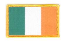 IRISH IRELAND FLAG PATCH BADGE IRON ON NEW EMBROIDERED