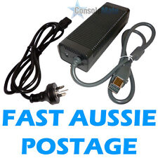 POWER SUPPLY / CABLE / LEAD - 203 Watt - - for ORIGINAL XBOX 360 - Free Au Post