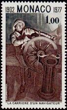 """MONACO N° 1088 """"ALBERT 1er NAVIGATEUR, L'HOMME DE BARRE, 1 F""""NEUF xxTTB"""