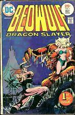 Beowulf 1, 5, 6 Sword of Sorcery 4 FANTASY LOT DC COMIC