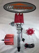 Small Cap CORVETTE Tach Drive RED HEI Distributor + 60,000 Volt PRO COMP Coil