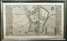 Kupferstich Landkarte Stettin