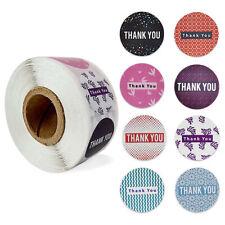 1'' Thank You Adhesive Stickers Seal Label Handmade Scrapbooking Envelope DIY