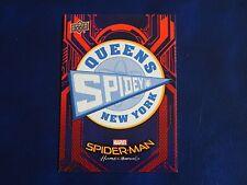 2017 UD Spider-Man Homecoming RB-37 Spider-Man Midtown School WALMART EXCLUSIVES