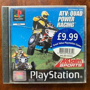 ATV Quad Power Racing PS1 Bike Game for Sony PlayStation