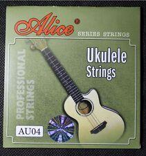 Genuine Alice Ukulele Nylon String set of 4 (Alice – AU04) for B F# D A tuning