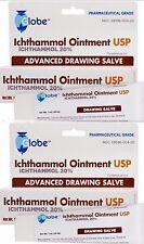 Ichthammol Ointment USP 20% Pharmaceutical Grade Salve 1oz ( 2 pack )