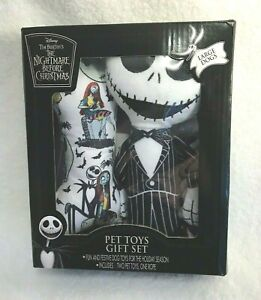 Disney Nightmare Before Christmas Pet Toys Large Dogs Jack New 2 Toys 1 Rope
