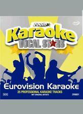 ZOOM KARAOKE VOCAL STARS CDG    EUROVISION KARAOKE    25  TOP TRACKS