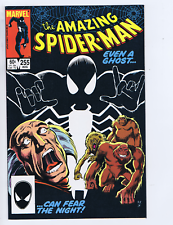 Amazing Spider-Man #255 Marvel 1984 Even a Ghost... Can Fear the Night !