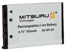 Mitsuru® Battery for Casio NP-20 NP20