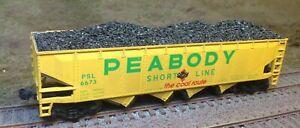 Realistic Coal Loads for Athearn 40' Quad Hopper
