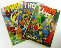 Marvel MIGHTY THOR #189 191 192 HELA Bronze Age READER LOT Ships FREE!