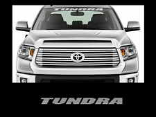 """Tundra Front Windshield Banner Decal Sticker 36"""" Toyota Truck Off Road Sport 4x4"""