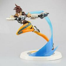 "Overwatch Lena Oxton Tracer 10"" PVC Action Figure Statues Toys NEW WITH BOX"