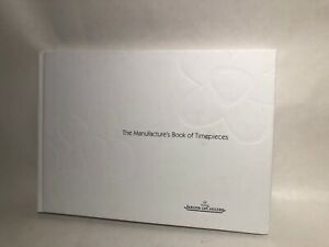 "2002/2003 ""The Manufacture's Book of Timepieces""  Catalog Jaeger-LeCoultre"