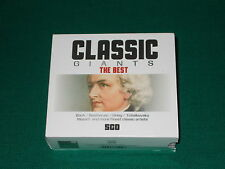 Classic giants the best box 5 cd Mozart, Bach, Tchaikovsky, Beethoven, Grieg