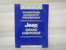 2002 POWERTRAIN DIAGNOSTIC PROCEDURES JEEP GRAND CHEROKEE 81-370-02047