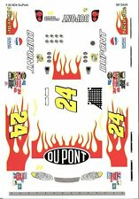 Grafix #24 Dupont 1/24 Scale Vinyl Slot Car Decal