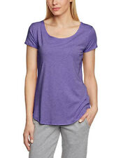 UNDER ARMOUR Studio Cross Town T-Shirt Sports Tee Women's Medium Purple Ladies