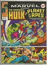 Mighty World of Marvel / Incredible Hulk : comic book #243 from May 1977