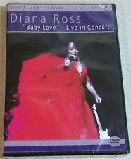 """DIANA ROSS """"Baby Love"""" Live in Concert DVD SOUTH AFRICA Cat# REVDVD439"""