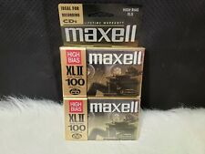 Maxell Xl Ii 100 Audio Cassette Tape (Pack of 2)