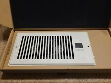 """AIRTAP T4, Quiet Register Booster Fan, Heating / Cooling 4 x 10"""" W/ AC ADAPTER"""