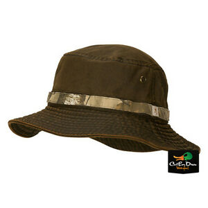 NEW BROWNING COOPER BUCKET HAT BOONIE CAP BUCKMARK LOGO BROWN