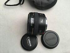 Canon EF 50mm f/1.4 USM Standard Lens For Canon - Black