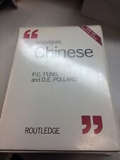 Colloquial Chinese Books on Cassette Audio Book Routledge Language