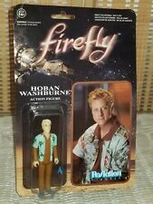 "New! Firefly 3 3/4 Inch Hoban ""Wash"" Washburn ReAction Retro Action Figure Funko"