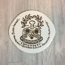 Ceramic Cheese Serving Platter Tray
