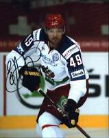 Evgeny Artyukhin signed NHL hockey 8x10 photo W/Cert Autographed A0007