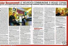 Coupure de presse  Clipping 2007 (2 pages) Olivier Besancenot