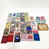 Mixed Lot of 30+ New Sealed Playing Card Decks Some Vintage Bicycle TV Sports B2