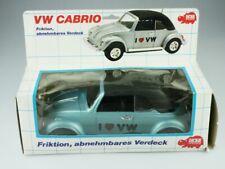 Dickie ca.1/18 VW Käfer Bug Beetle love Convertible Cabriolet blaumet Box 512366