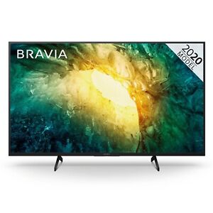 "Sony KD49X7052PBU Bravia X70 49"" Inch TV Smart 4K Ultra HD LED Freeview HD"