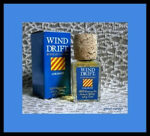 WIND DRIFT NIB EDC by ENGLISH LEATHER 55ml (2 fl oz) Splash Made in USA VTG 1989