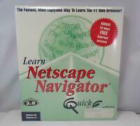 Individual Software CD-ROM - Learn Netscape Navigator - NEW Factory Sealed Box