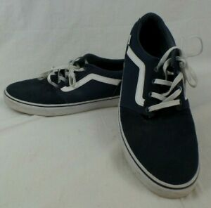 """Vans """"Off the Wall"""" Blue Mens Trainers Size 12 EU47"""