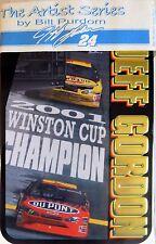 NASCAR collector 6 metal cards JEFF GORDON 2001