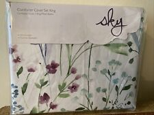 Sky Comforter Cover King Set NWT! 100% Cotton! MSRP $270