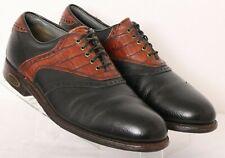 FootJoy 50487 Classics Dry Premiere Pebbled Leather Golf Shoes Men's Us 9D
