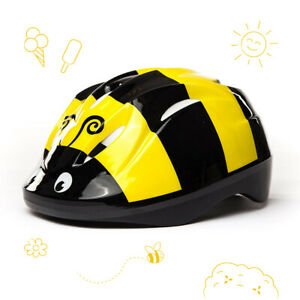3StyleScooters® Cycle Helmet - Kids Bumblebee Safety Helmet - Ages 3 to 6