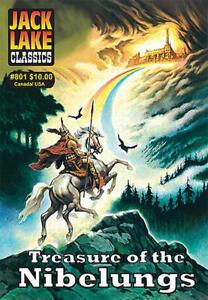 Jack Lake Classics #801 - Treasure of the Nibelungs, Canadian CI publisher, NEW