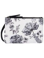Fiorelli Black White Floral Mono Bunton Print Crossbody Hand Bag Handbag RRP £49
